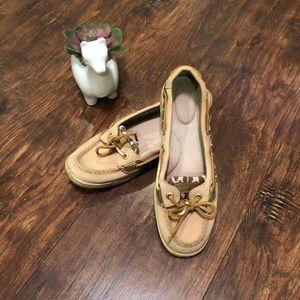 Sperry giraffe print boat shoes.  Sz 6.5